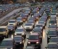 Московских автомобилистов предупредят о пробках по SMS